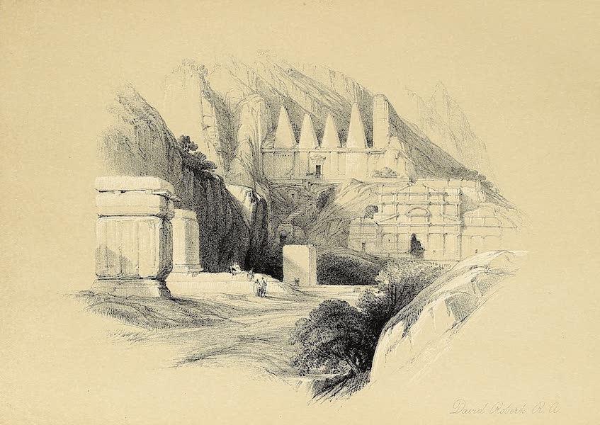 The Holy Land : Syria, Idumea, Arabia, Egypt & Nubia Vols. 3 & 4 - The Necropolis, Petra (1855)