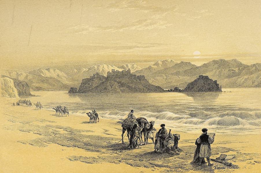 The Holy Land : Syria, Idumea, Arabia, Egypt & Nubia Vols. 3 & 4 - Island of Graia, Gulf of Akaba (1855)