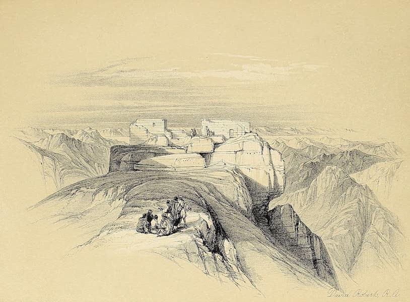 The Holy Land : Syria, Idumea, Arabia, Egypt & Nubia Vols. 3 & 4 - The Christian and Mahometan Chapels on Mount Sinai (1855)