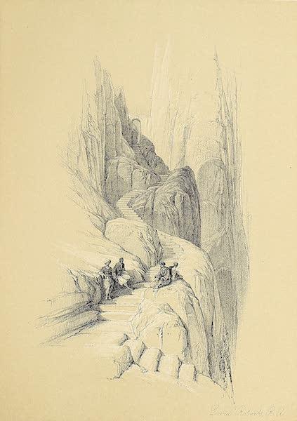 The Holy Land : Syria, Idumea, Arabia, Egypt & Nubia Vols. 3 & 4 - Ascent to the Summit of Sinai (1855)