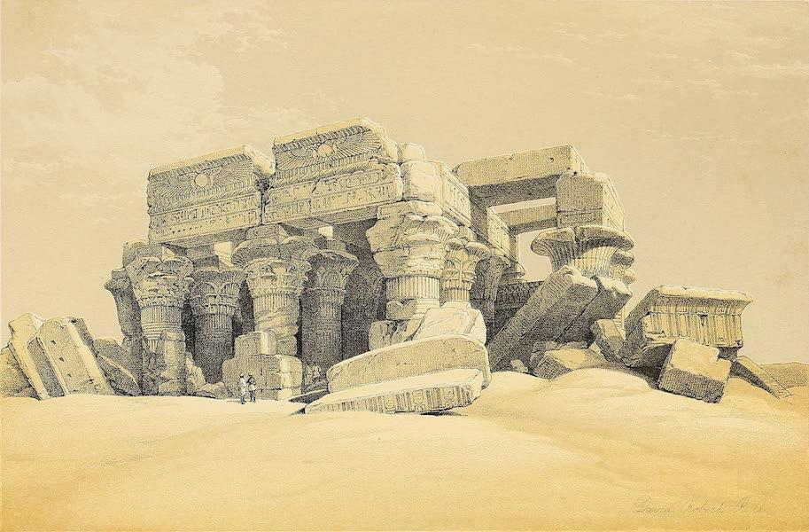 The Holy Land : Syria, Idumea, Arabia, Egypt & Nubia Vols. 3 & 4 - Pompey's Pillar, Alexandria (1855)