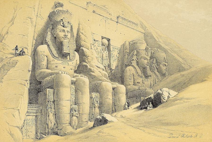The Holy Land : Syria, Idumea, Arabia, Egypt & Nubia Vols. 3 & 4 - Temple of Tafa, in Nubia (1855)