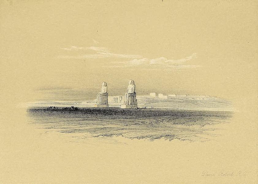 The Holy Land : Syria, Idumea, Arabia, Egypt & Nubia Vols. 3 & 4 - Portico of the Temple of Edfou, Upper Egypt (1855)