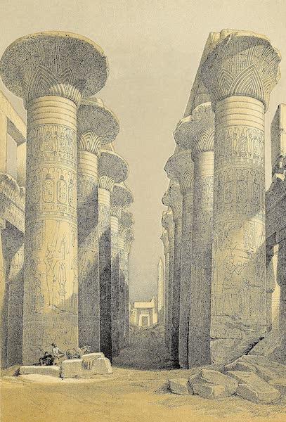 The Holy Land : Syria, Idumea, Arabia, Egypt & Nubia Vols. 3 & 4 - Temple of Dakke, in Nubia (1855)