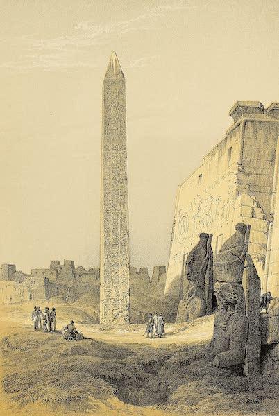 The Holy Land : Syria, Idumea, Arabia, Egypt & Nubia Vols. 3 & 4 - Cleopatra's Needle (1855)