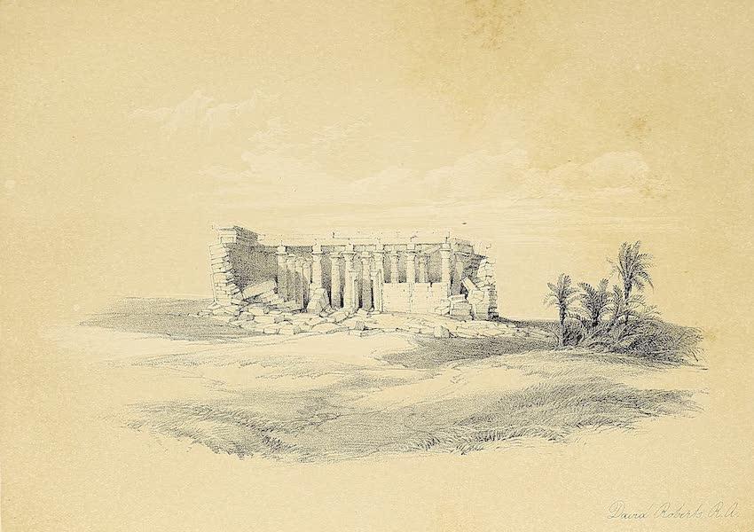 The Holy Land : Syria, Idumea, Arabia, Egypt & Nubia Vols. 3 & 4 - Obelisk at Luxor (1855)
