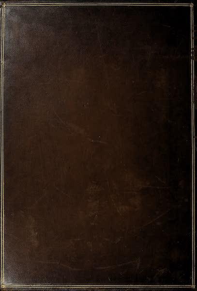 The Holy Land : Syria, Idumea, Arabia, Egypt & Nubia Vols. 3 & 4 - Back Cover (1855)