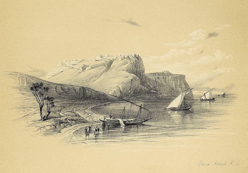 The Holy Land : Syria, Idumea, Arabia, Egypt & Nubia Vols. 5 & 6 - Fortress of Ibrim, Nubia (1855)