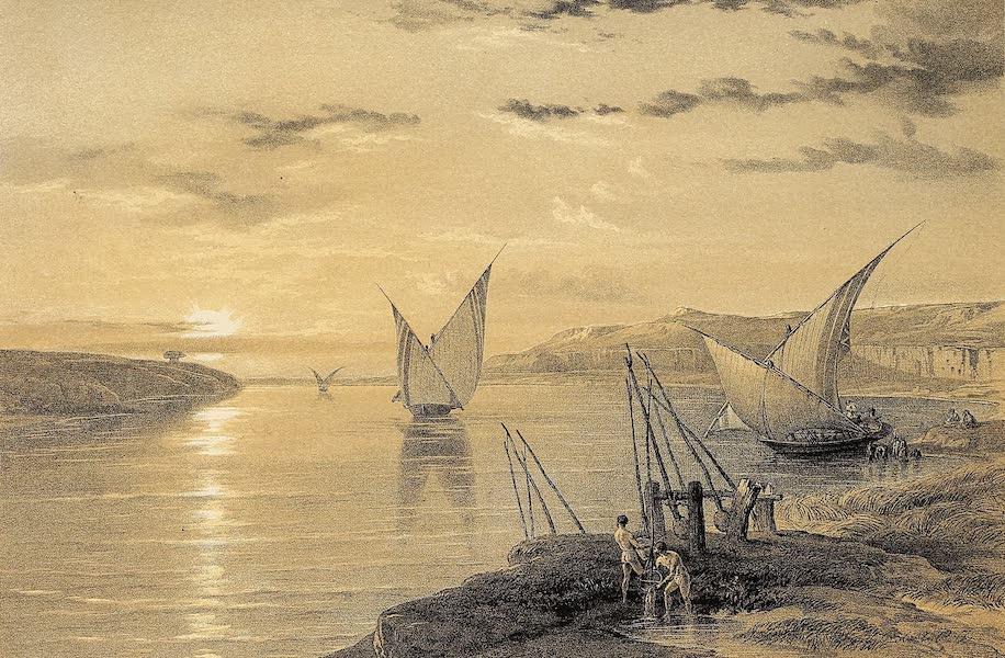The Holy Land : Syria, Idumea, Arabia, Egypt & Nubia Vols. 5 & 6 - Hadjar Silsilis or the Rock of the Chain (1855)