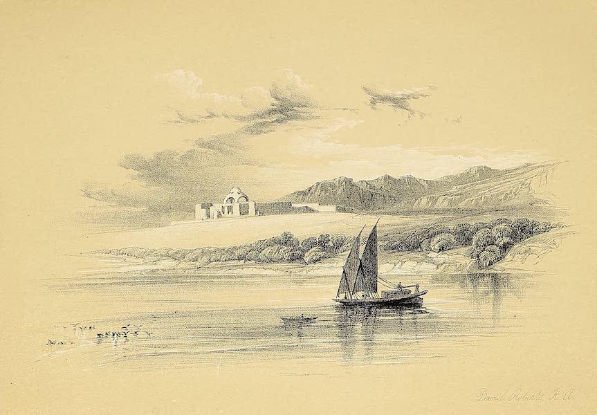 The Holy Land : Syria, Idumea, Arabia, Egypt & Nubia Vols. 5 & 6 - Temple of Amada, at Hassaia, Nubia (1855)