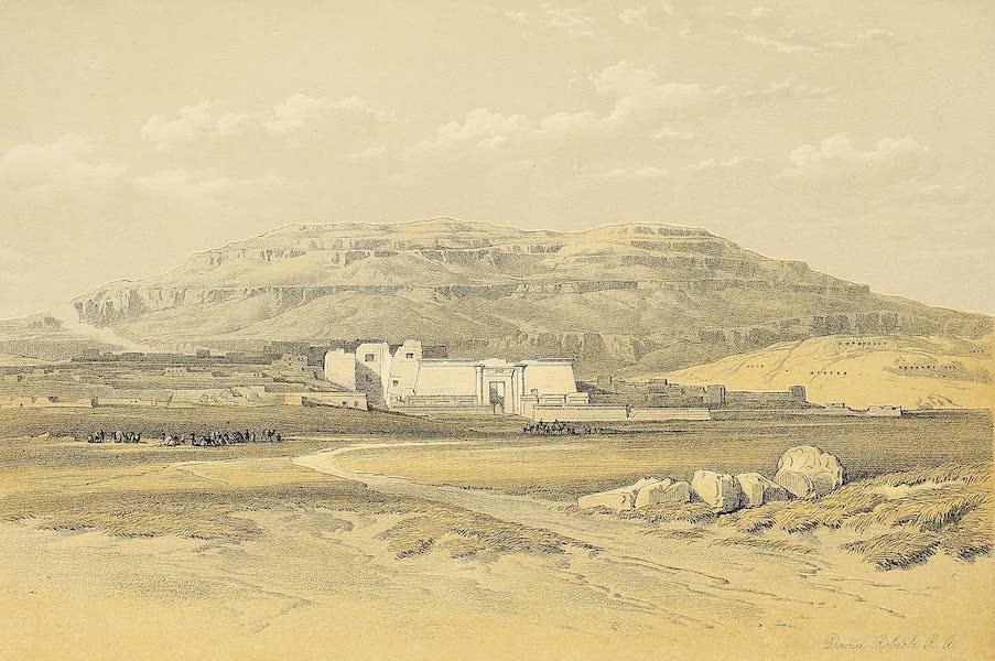 The Holy Land : Syria, Idumea, Arabia, Egypt & Nubia Vols. 5 & 6 - Medinet Abou, Thebes (1855)