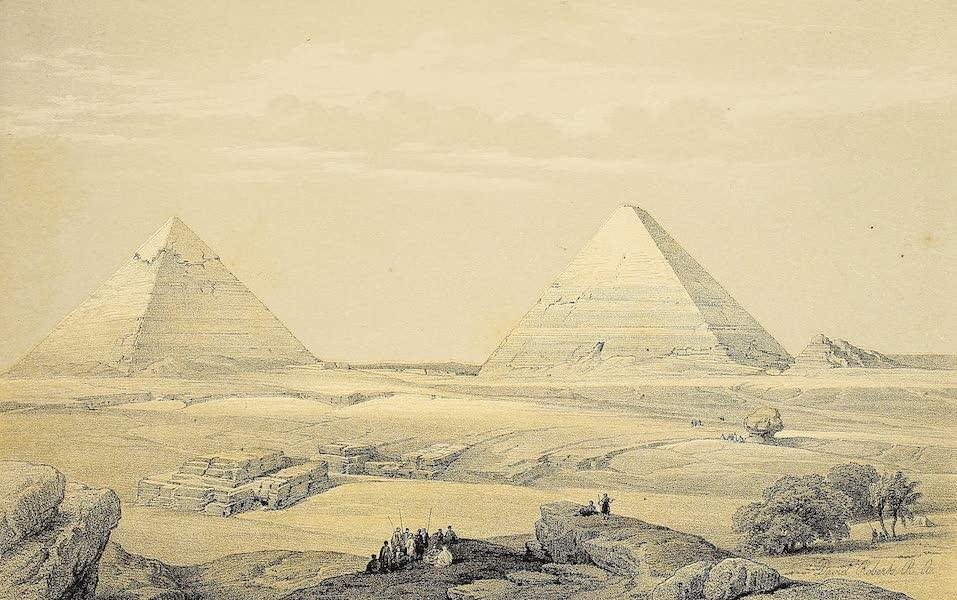 The Holy Land : Syria, Idumea, Arabia, Egypt & Nubia Vols. 5 & 6 - Pyramids of Geezeh (1855)