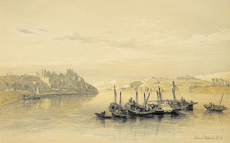 The Holy Land : Syria, Idumea, Arabia, Egypt & Nubia Vols. 5 & 6 - Asouan and the Island of Elephantine (1855)