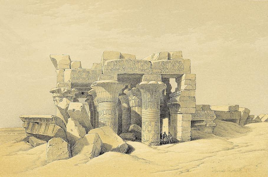 The Holy Land : Syria, Idumea, Arabia, Egypt & Nubia Vols. 5 & 6 - Kom-Ombo (1855)
