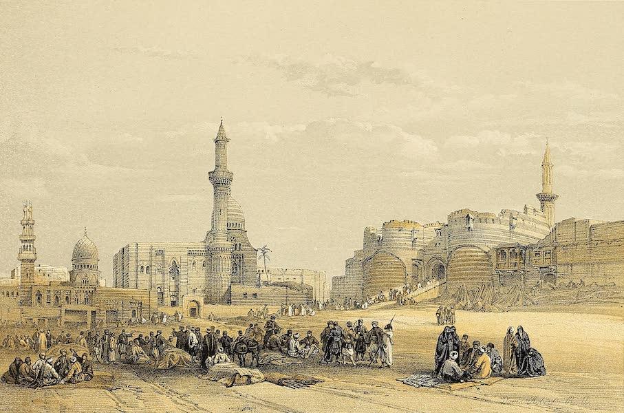The Holy Land : Syria, Idumea, Arabia, Egypt & Nubia Vols. 5 & 6 - The Entrance to the Citadel of Cairo (1855)