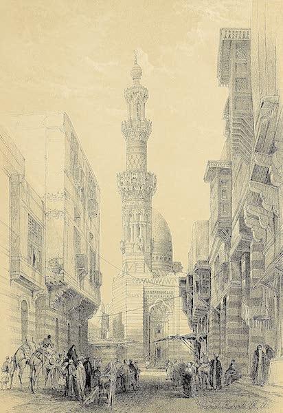 The Holy Land : Syria, Idumea, Arabia, Egypt & Nubia Vols. 5 & 6 - Principal Mosque at Boulak (1855)
