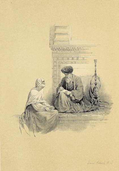 The Holy Land : Syria, Idumea, Arabia, Egypt & Nubia Vols. 5 & 6 - The Letter-Writer, Cairo (1855)