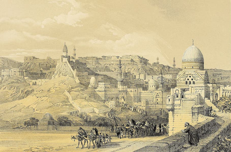 The Holy Land : Syria, Idumea, Arabia, Egypt & Nubia Vols. 5 & 6 - Citadel of Cairo, the Residence of the Pasha (1855)