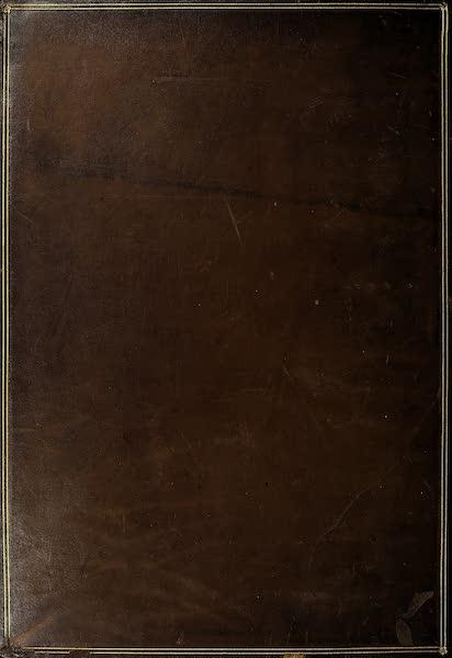 The Holy Land : Syria, Idumea, Arabia, Egypt & Nubia Vols. 5 & 6 - Back Cover (1855)