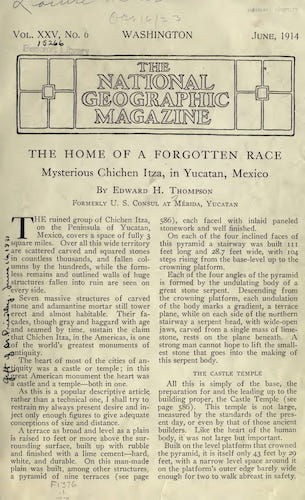 Archaeology - The Home of a Forgotten Race