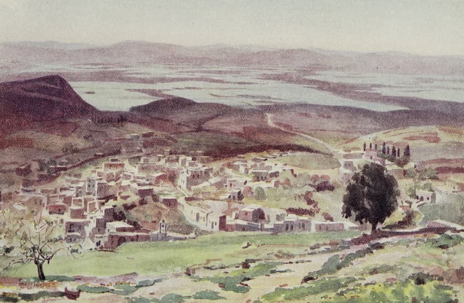 The Home of Fadeless Splendour or, Palestine of Today - Nazareth in its Setting (1921)