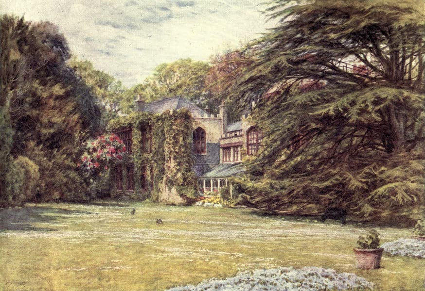 The Homes of Tennyson Painted and Described - Farringford (1905)