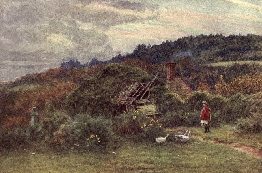 The Homes of Tennyson Painted and Described - Shed at Roundhurst (1905)
