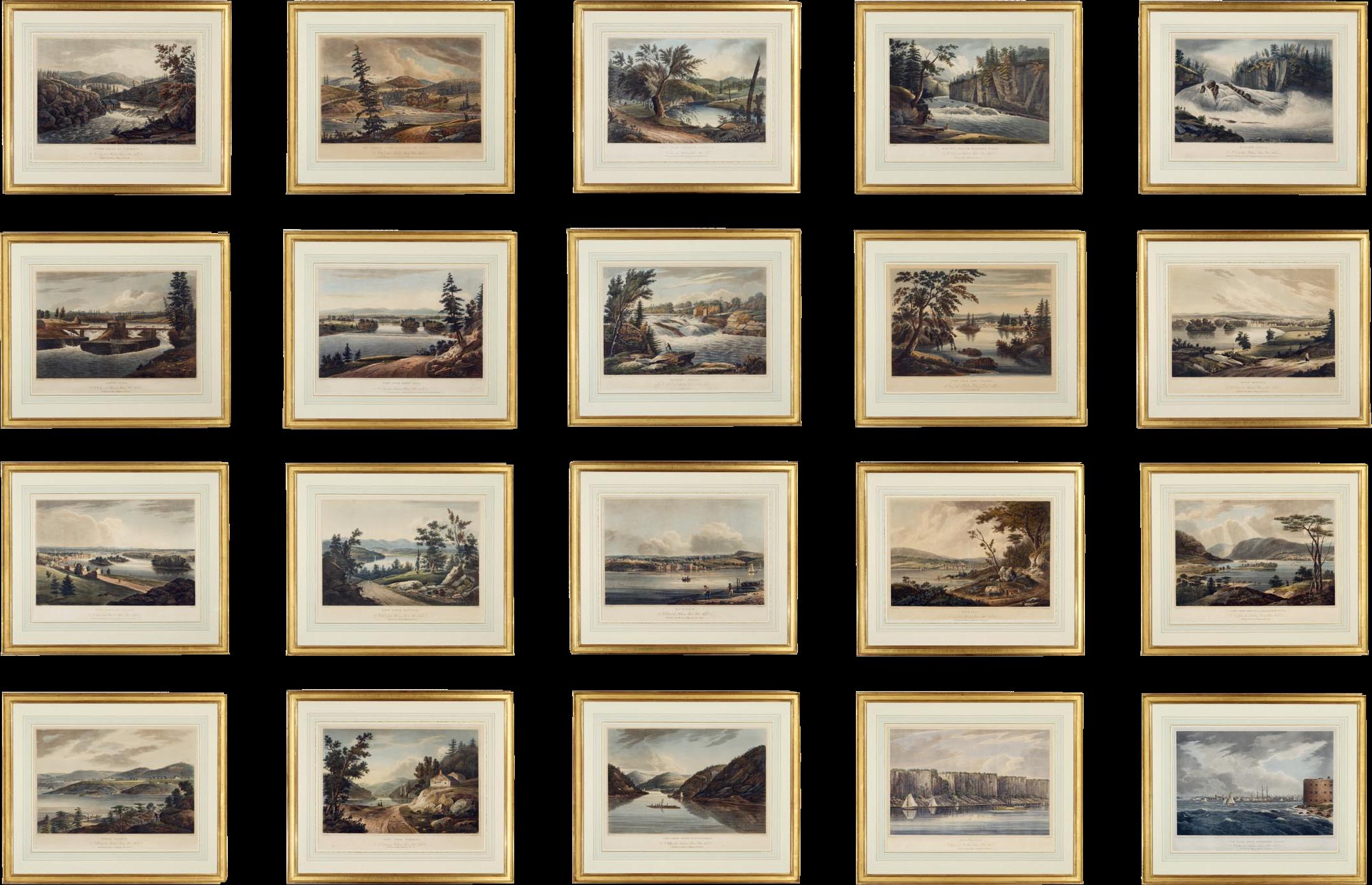 The Hudson River Portfolio - Hudson River Portfolio (c. 1820) - Display (1820)
