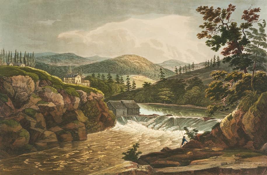 The Hudson River Portfolio - Little Falls at Luzerne (1820)