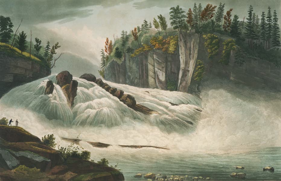 The Hudson River Portfolio - Hadley's Falls (1820)