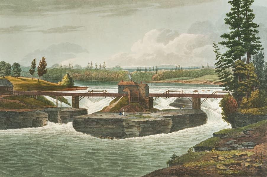 The Hudson River Portfolio - Glenns Falls (1820)