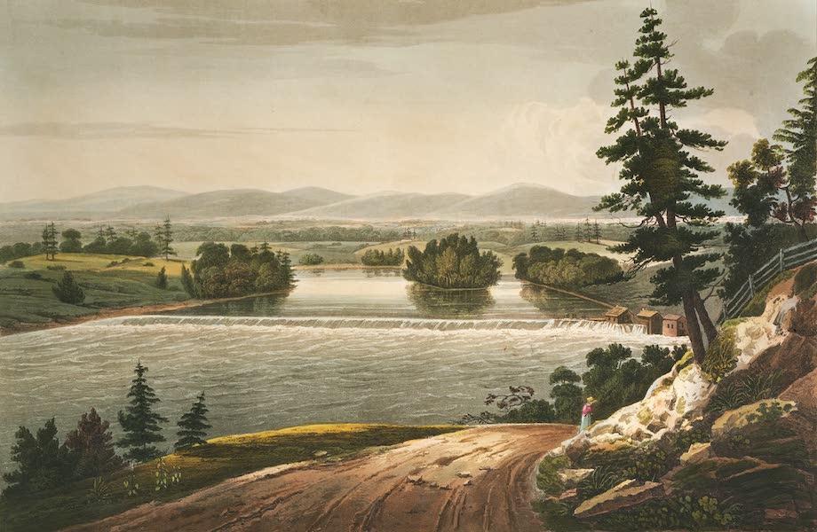 The Hudson River Portfolio - View near Sandy Hill (1820)
