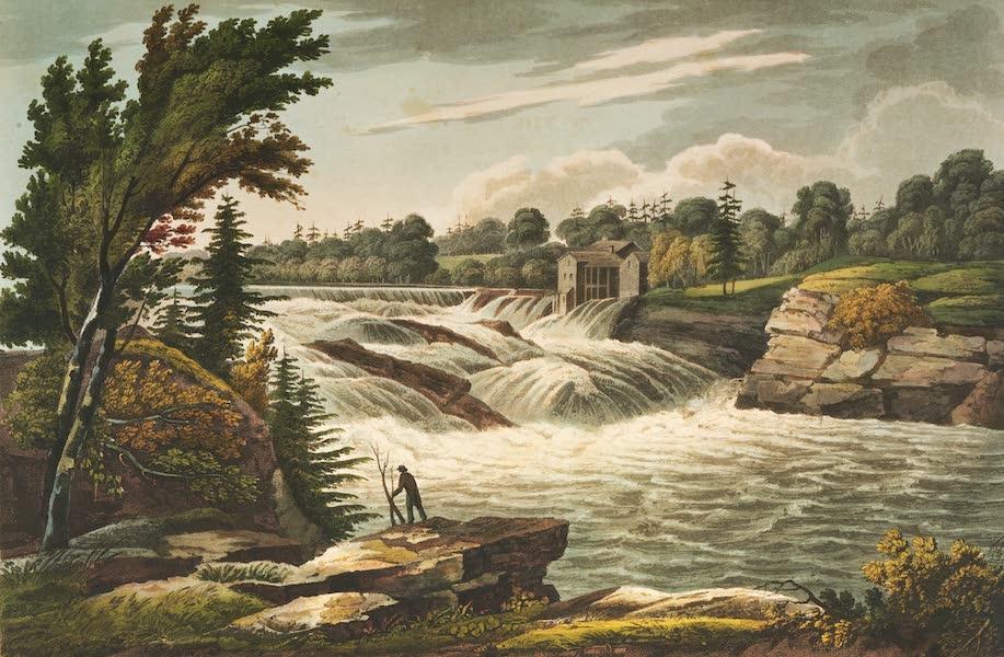 The Hudson River Portfolio - Baker's Falls (1820)