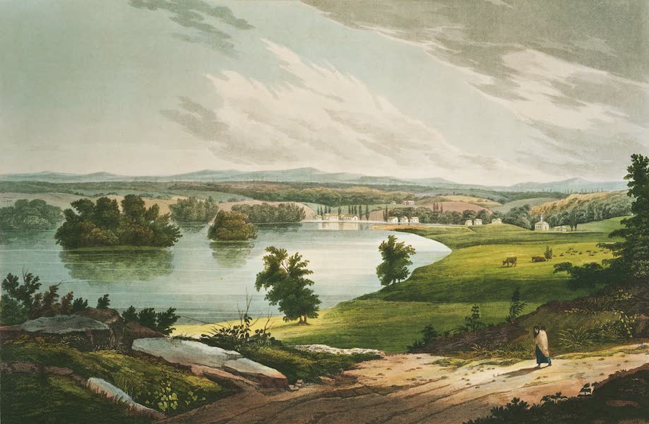 The Hudson River Portfolio - Fort Edward (1820)