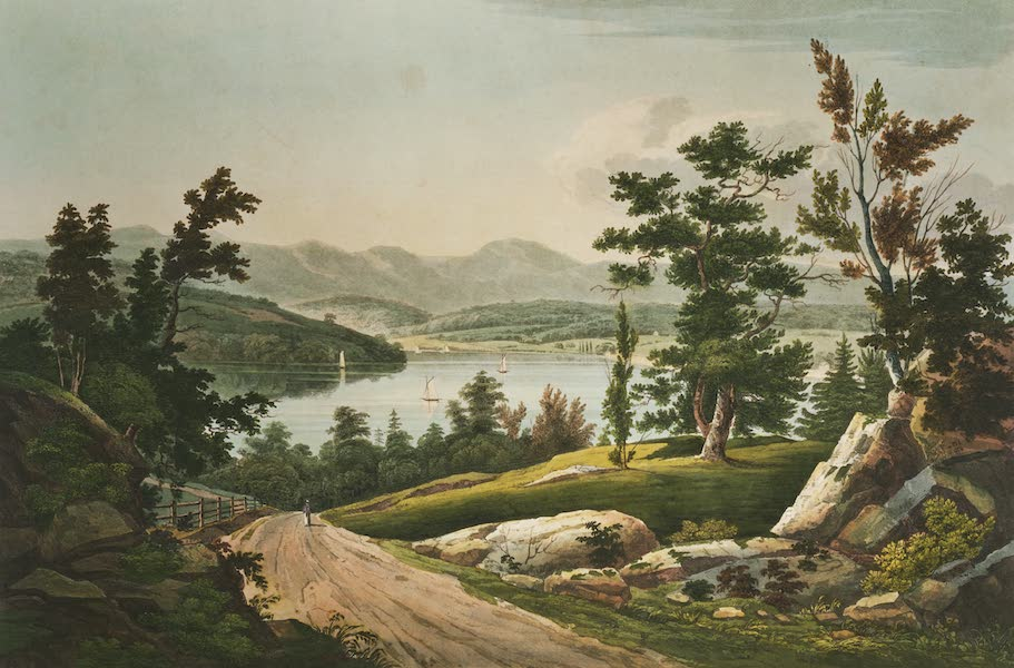The Hudson River Portfolio - View near Hudson (1820)
