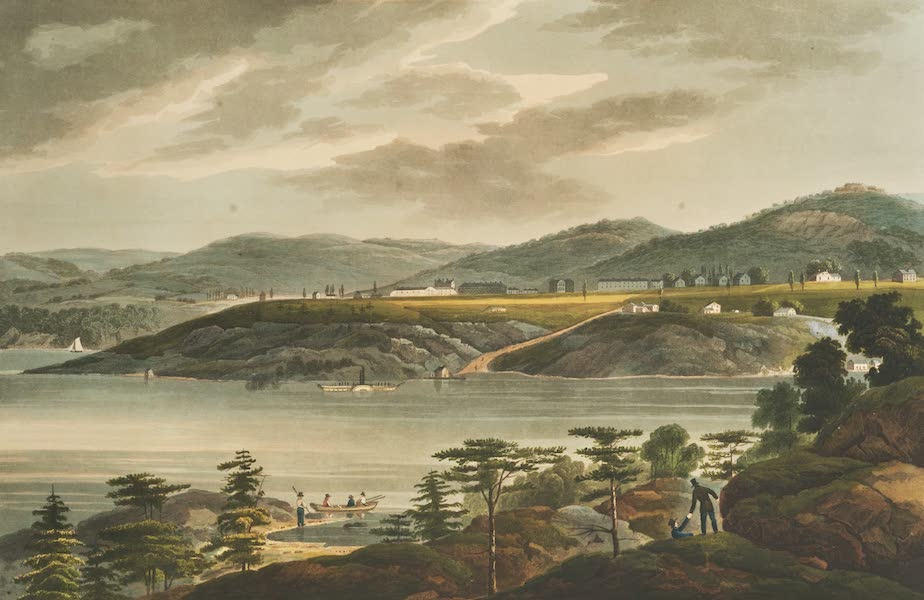 The Hudson River Portfolio - West Point (1820)