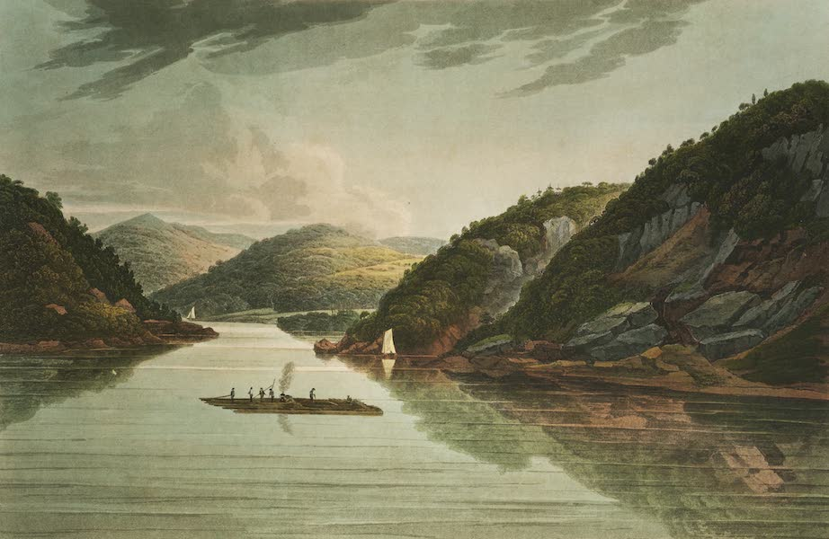 The Hudson River Portfolio - View near Fort Montgomery (1820)