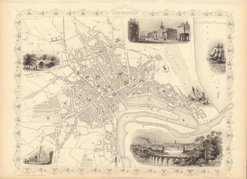 The Illustrated Atlas - Aberdeen (1851)