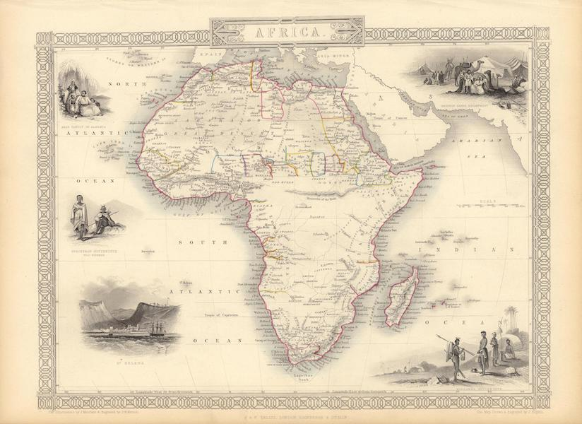 The Illustrated Atlas - Africa (1851)