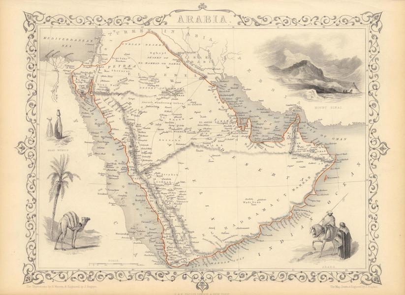 The Illustrated Atlas - Arabia (1851)