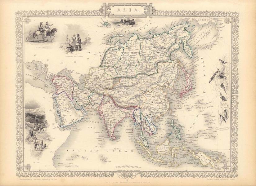 The Illustrated Atlas - Asia (1851)