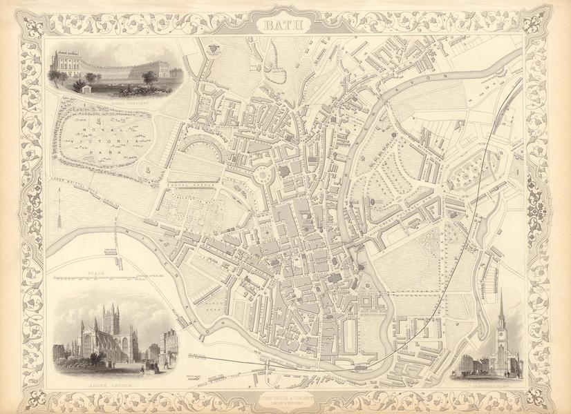The Illustrated Atlas - Bath (1851)