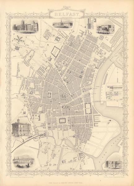 The Illustrated Atlas - Belfast (1851)