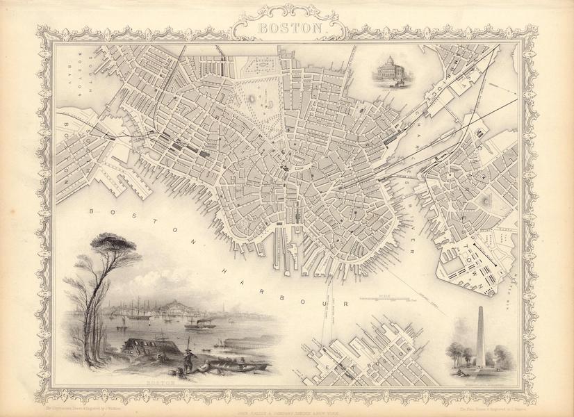 The Illustrated Atlas - Boston (1851)