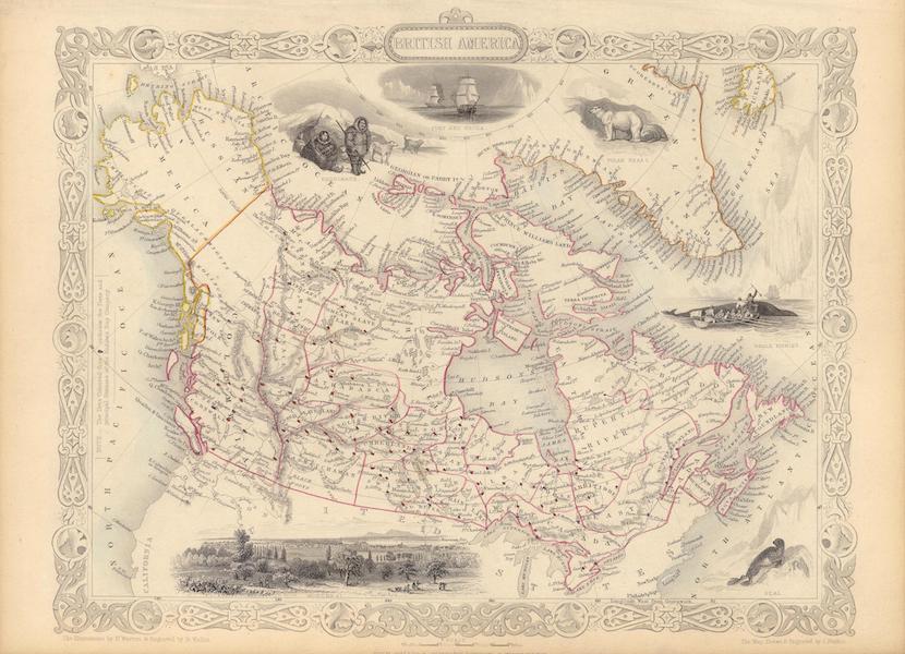 The Illustrated Atlas - British America (1851)