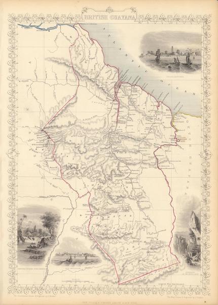 The Illustrated Atlas - British Guayana (1851)