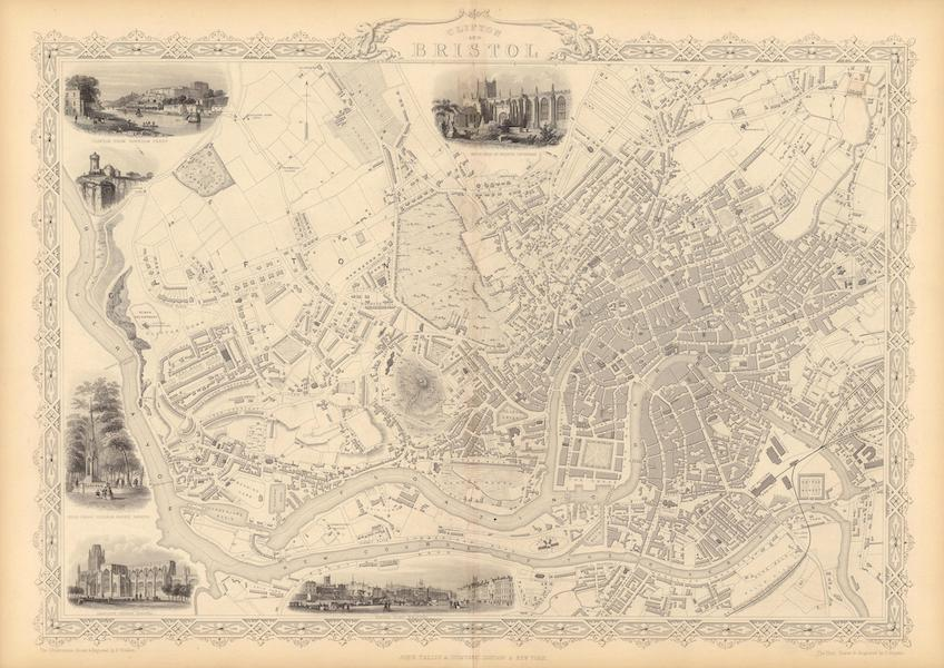 The Illustrated Atlas - Clifton and Bristol (1851)
