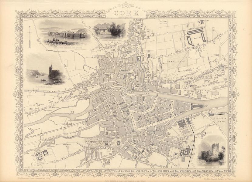The Illustrated Atlas - Cork (1851)