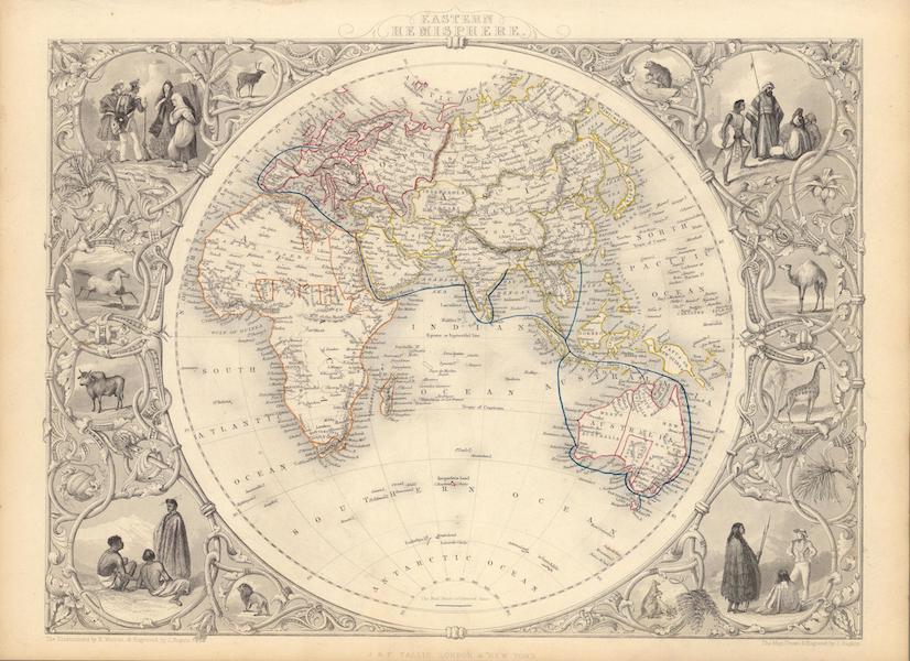 The Illustrated Atlas - Eastern Hemisphere (1851)