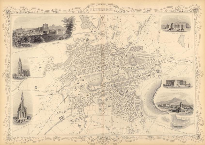 The Illustrated Atlas - Edinburgh (1851)